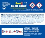 Revell Barva emailová hedvábně matná - Černá (Black) - č. 302