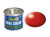 Revell Barva emailová hedvábně matná - Ohnivě rudá (Fiery red) - č. 330