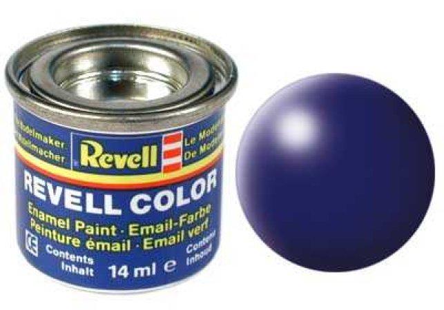 Revell Barva emailová hedvábně matná - Tmavě modrá (Dark blue) - č. 350