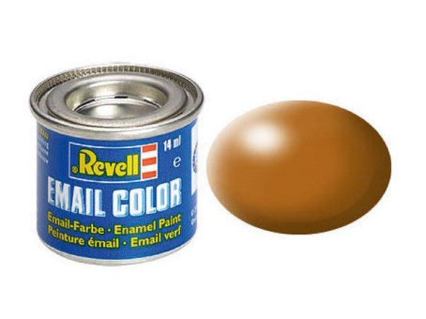 Revell Barva emailová hedvábně matná - Lesní hnědá (Wood brown) - č. 382