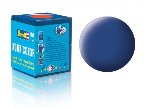 Revell Barva akrylová matná - Modrá (Blue) - č. 56