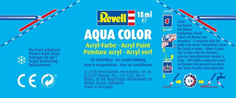 Revell Barva akrylová matná - Žulově šedá (Granite grey) - č. 69