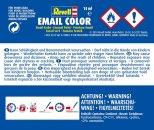 Revell Barva emailová matná - Bílá (White) - č. 05