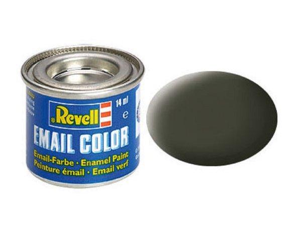 Revell Barva emailová matná - Olivově žlutá (Olive yellow) - č. 42