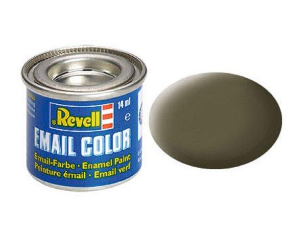 Revell Barva emailová matná - Olivová NATO (Nato olive) - č. 46