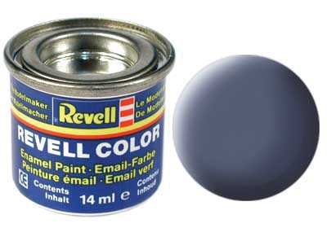 Revell Barva emailová matná - Šedá (Grey) - č. 57