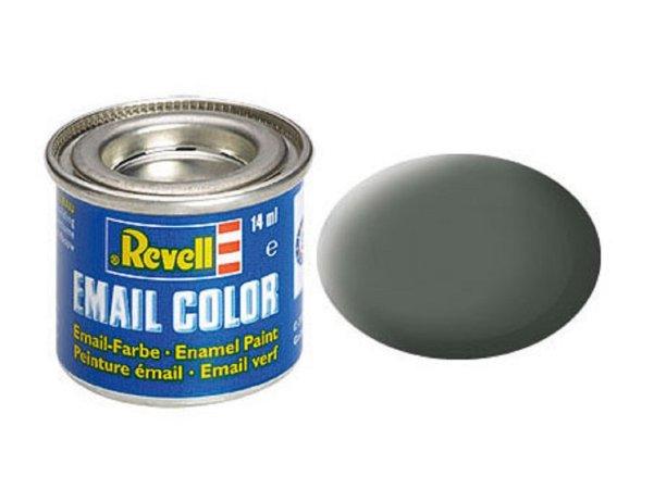 Revell Barva emailová matná - Olivově šedá (Olive grey) - č. 66