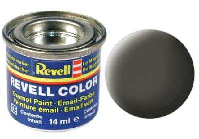 Revell Barva emailová matná - Zelenavě šedá (Greenish grey) - č. 67