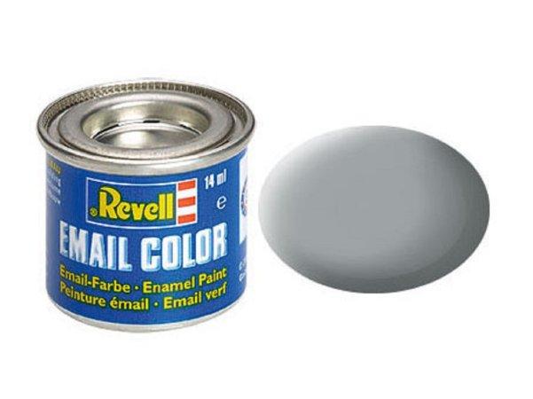 Revell Barva emailová matná - Světle šedá (Light grey USAF) - č. 76