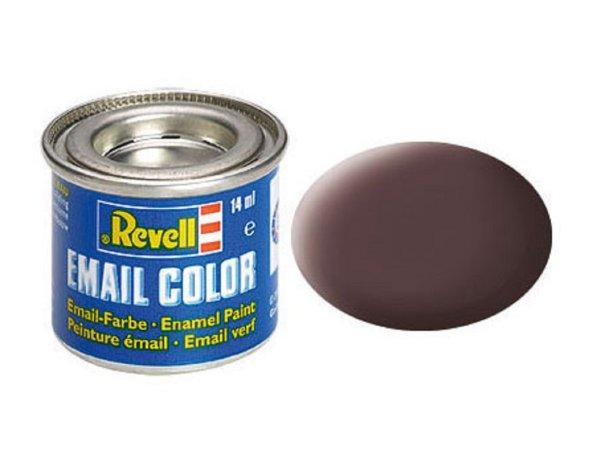 Revell Barva emailová matná - Koženě hnědá (Leather brown) - č. 84