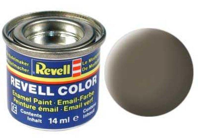 Revell Barva emailová matná - Olivově hnědá (Olive brown) - č. 86