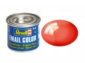 Revell Barva emailová čirá - Červená (Red) - č. 731