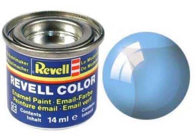 Revell Barva emailová čirá - Modrá (Blue) - č. 752