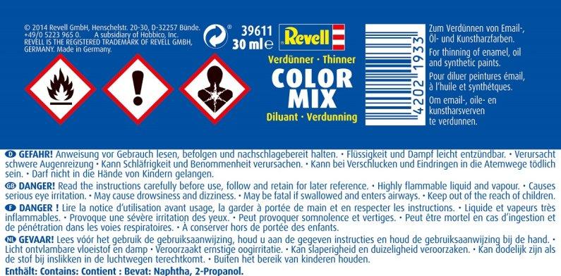 Revell Color Mix 39611 - ředidlo - 30 ml