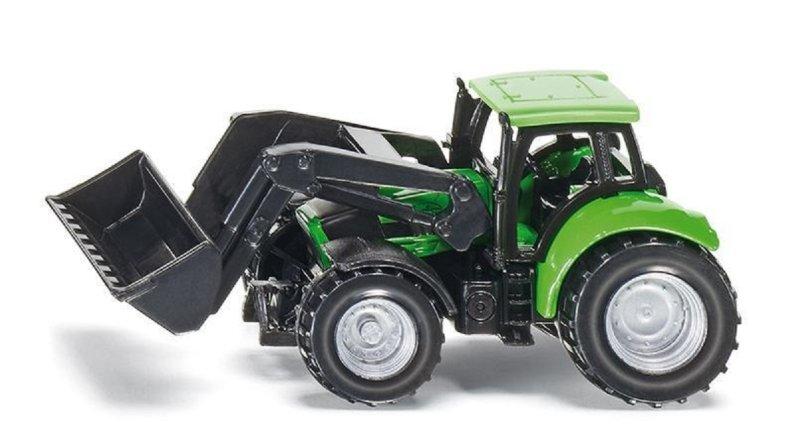 SIKU  Traktor DEUTZ s čelním nakladačem