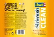 Revell Airbrush Clean 39005 - čistič - 500 ml