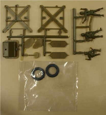 Revell Plastic ModelKit - milltirary - U.S. Army Corporal MGM-5 - Výprodej