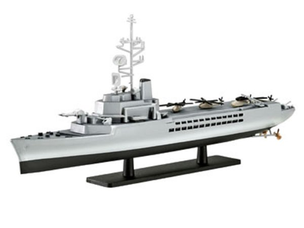 Revell Plastikový model lodě French Helicopter Carrier Jeanne d'Arc (R97) - Výprodej
