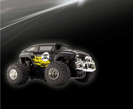 Revell Mini RC autíčko - Truck CM191 - černý