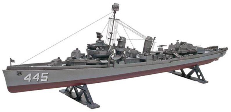 Revell Plastikový model lodě USS Fletcher Destroyer - Výprodej