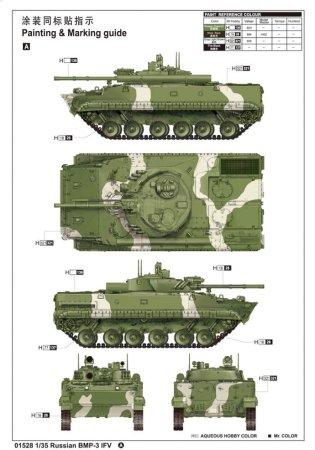 Trumpeter BMP-3 IFV - Výprodej