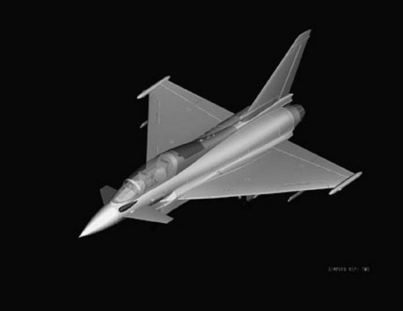 Hobby Boss EF-2000B Eurofighter Typhoon