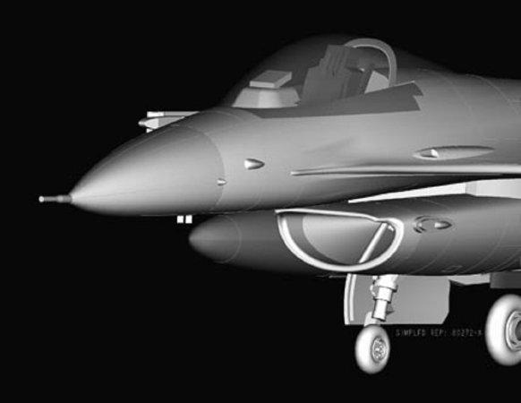 Hobby Boss F-16C Fighting Falcon