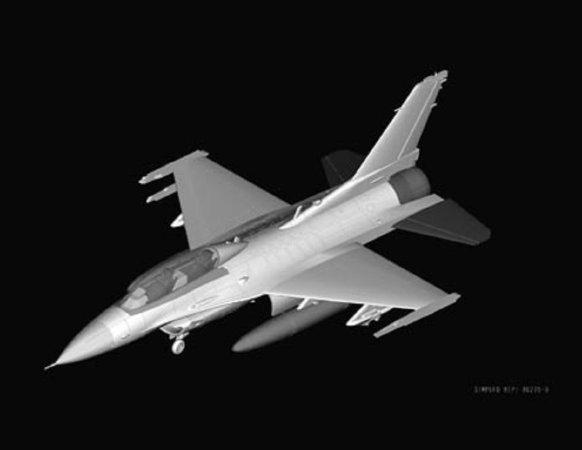 Hobby Boss F-16D Fighting Falcon