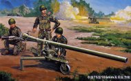 Trumpeter PRC 105mm Type 75 Recoilless Rifle w/figures - Výprodej