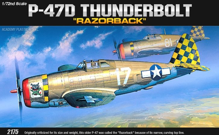 Academy P-47D Razorback
