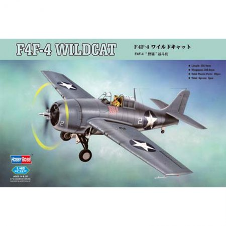 Hobby Boss F4F-4 Wildcat Fighter