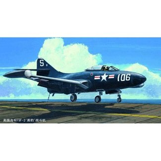 Trumpeter US. NAVY F9F-3 Panther