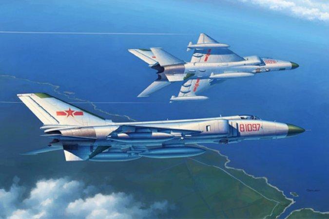 Trumpeter PLA J-8B Fighter - Výprodej