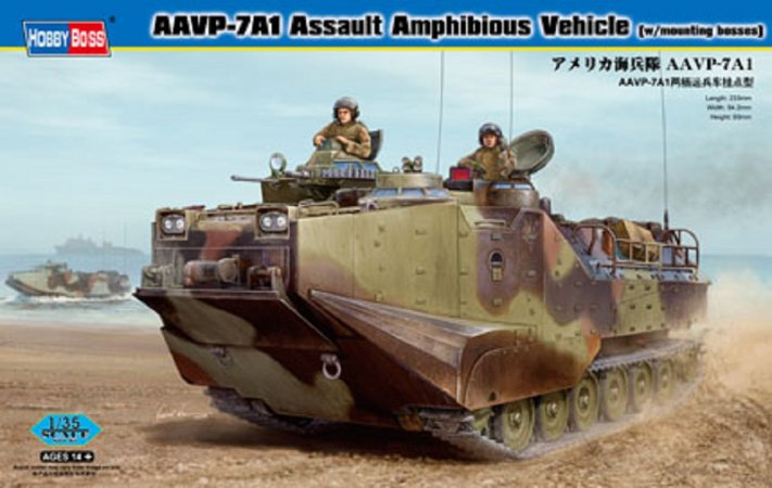 Hobby Boss AAVP-7A1 Assault Amphibious Vehicle - Výprodej