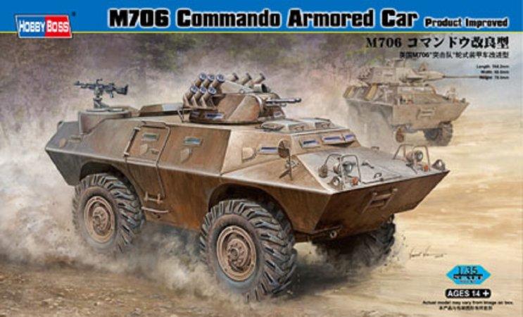Hobby Boss M706 Commando Armored - Výprodej
