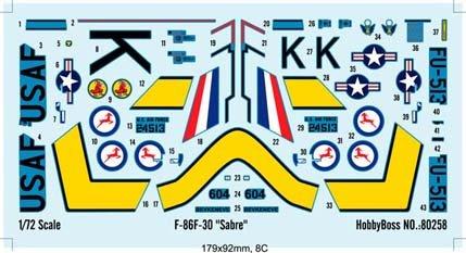 Hobby Boss F-86F-30 Sabre