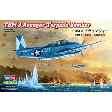 Hobby Boss TBM-3 Avenger Torpedo Bomber