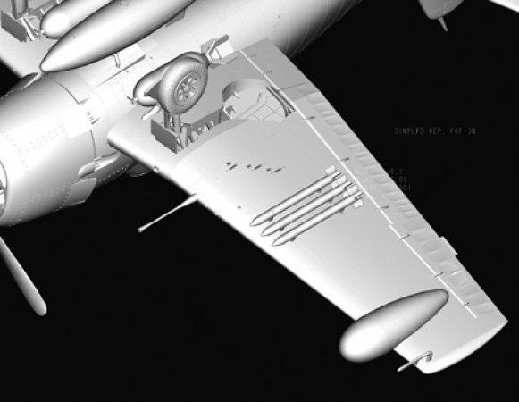 Hobby Boss F6F-3N Hellcat