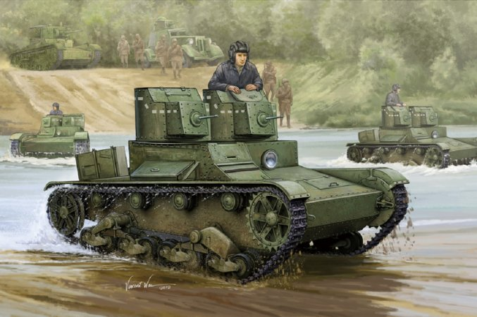 Hobby Boss Soviet T-26 Light tank model 1931 - Výprodej