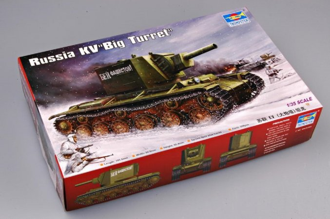 Trumpeter KV Big Turret - Výprodej