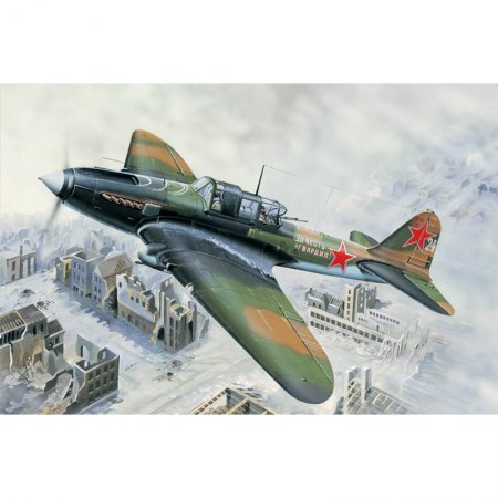 Hobby Boss IL-2M Ground Attack aircraft