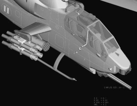 Hobby Boss AH-1S Cobra Attack Helicopter