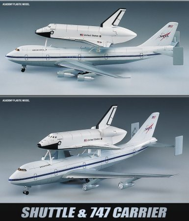 Academy Shuttle & B747
