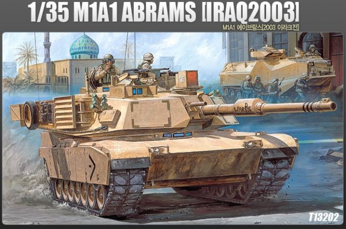 "Academy M1 A1 Abrams ""Iraq 2003"""