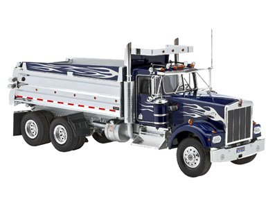Revell Plastikový model kamionu Kenworth Dump