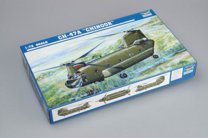 Trumpeter CH-47A Chinook