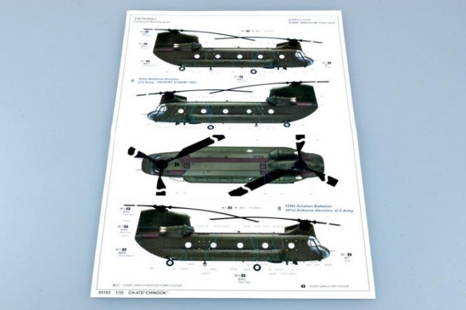 Trumpeter CH-47D Chinook