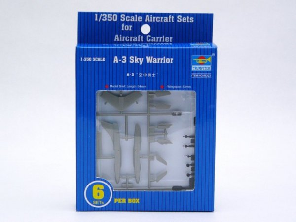 Trumpeter A-3D Sky Warrior (6 ks)