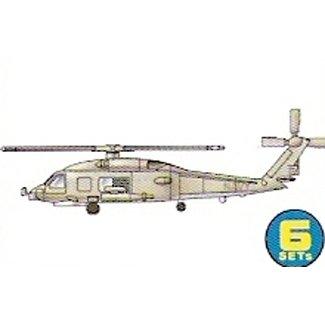 Trumpeter SH-60B SeaHawk (6 ks)