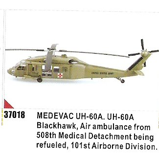 Easy model Helicopter - UH-60A 508th 101 st Airborne